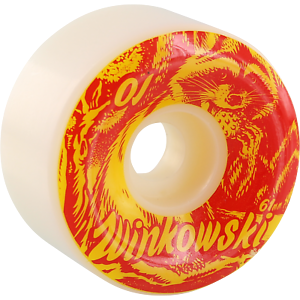 OJ Winkowski Trash Panda Red Original 97A 61mm Wheels