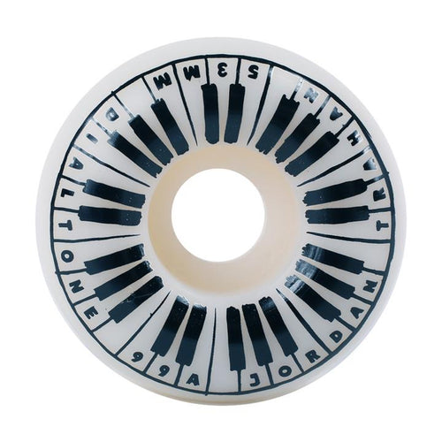 Dial Tone Trahan Piano Man Round Cut 99A 53mm Wheels