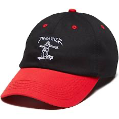 Thrasher Gonz Old Timer Hat Blk/Red