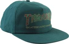 Thrasher Davis Hat Forest Green