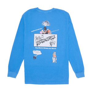 Fucking Awesome Color Movie L/S Caribbean Blue Tee