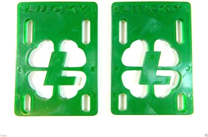 "Lucky Green 1/8"" risers (sold as a set)"