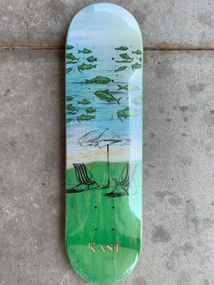 Kast Symbiosis Transparent Fish And Sand Deck- 7.5