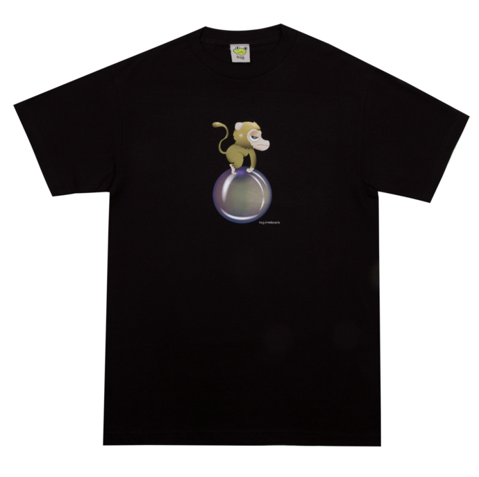 Frog - Monkey Bubble Tee