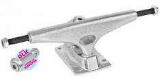 Krux Polished Hollow Silver Dlk Standard Truck