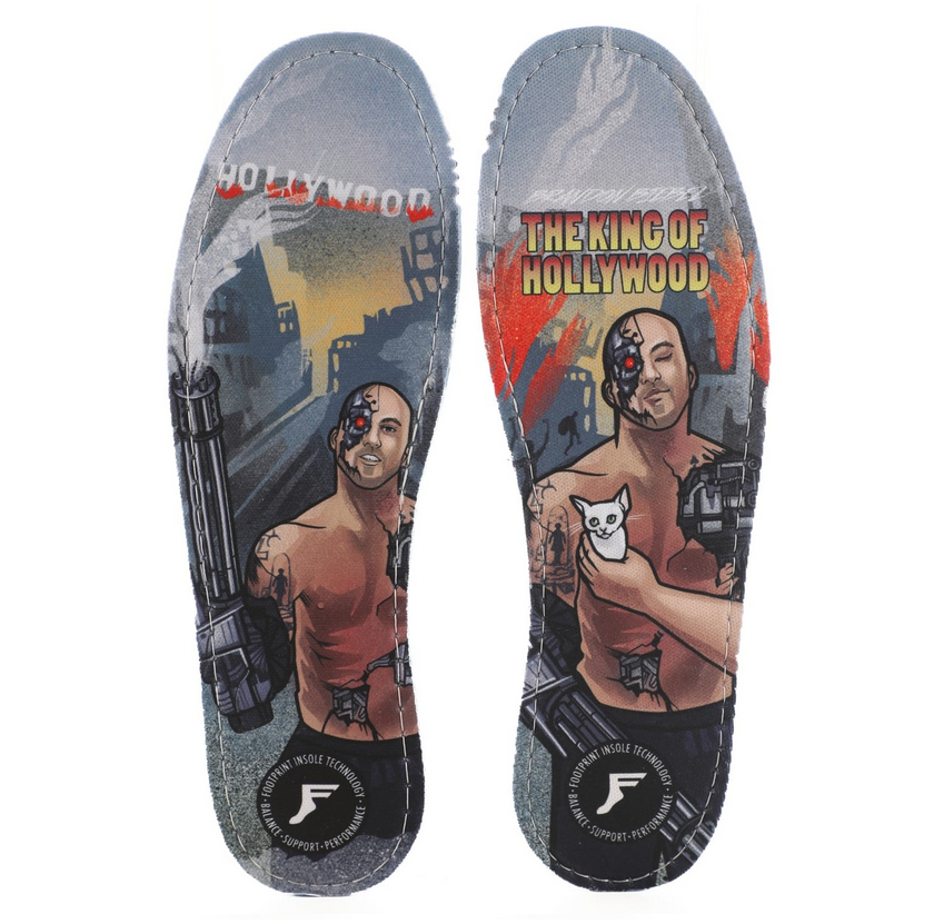Footprint Insoles Biebel King of Hollywood