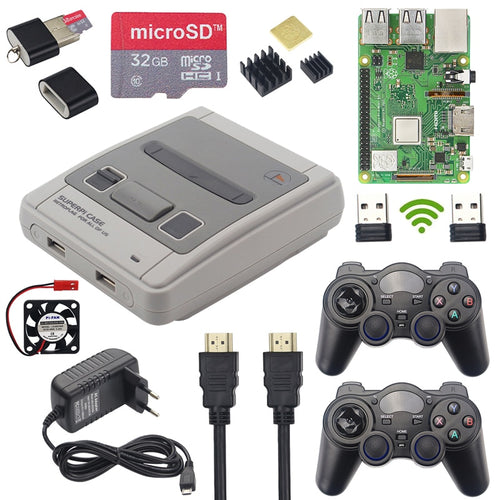 Pack Retroflag Raspberry Pi 3 Model B+ - Arcade Boz