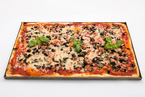 Pizza Sfincione - Sicilian deep base tray pizza