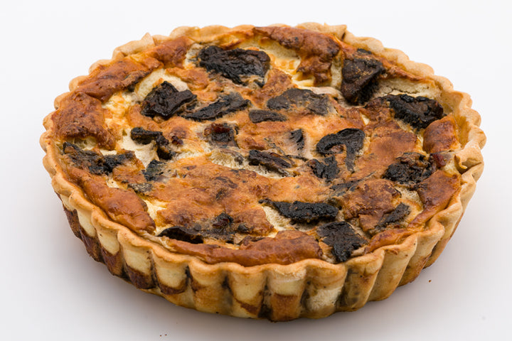 Bacon and Mushroom Quiche