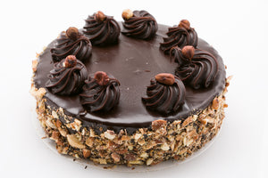 Chocolate Hazelnut Almond Mud Cake (GF)