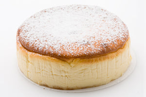 Baked Cheesecake - dusted