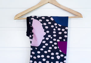 Josephine Wired Head Wrap - Spots & Shapes