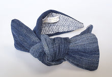 Céline Martine - Big Bow Headband - Up-cycled Denim