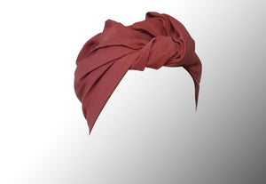 Josephine Wire Head Wrap - Regular - Raspberry Pink