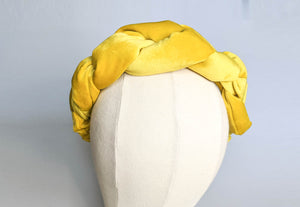 Emmeline Wreath - lemon yellow