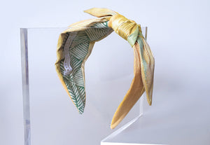 Limited Edition - Mathilde Side Knot Headband - Regular - Sand Reflections
