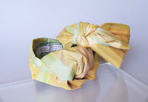 Limited Edition - Simone Top Knot Headband - Sand Reflections