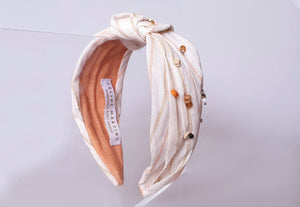 Limited Edition - Thalassa Headband - Ecru linen