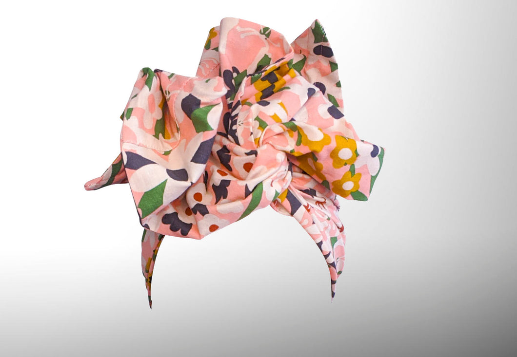 Josephine Wired Head Wrap - Floral Maya - Extra Length
