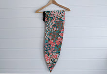 Josephine Wired Head Wrap - Floral Kuma - Extra Length