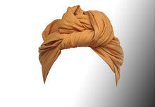 Josephine Wired Head Wrap - Aurore Yellow