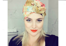 Josephine Head Wrap - Long - Mustard Lawn