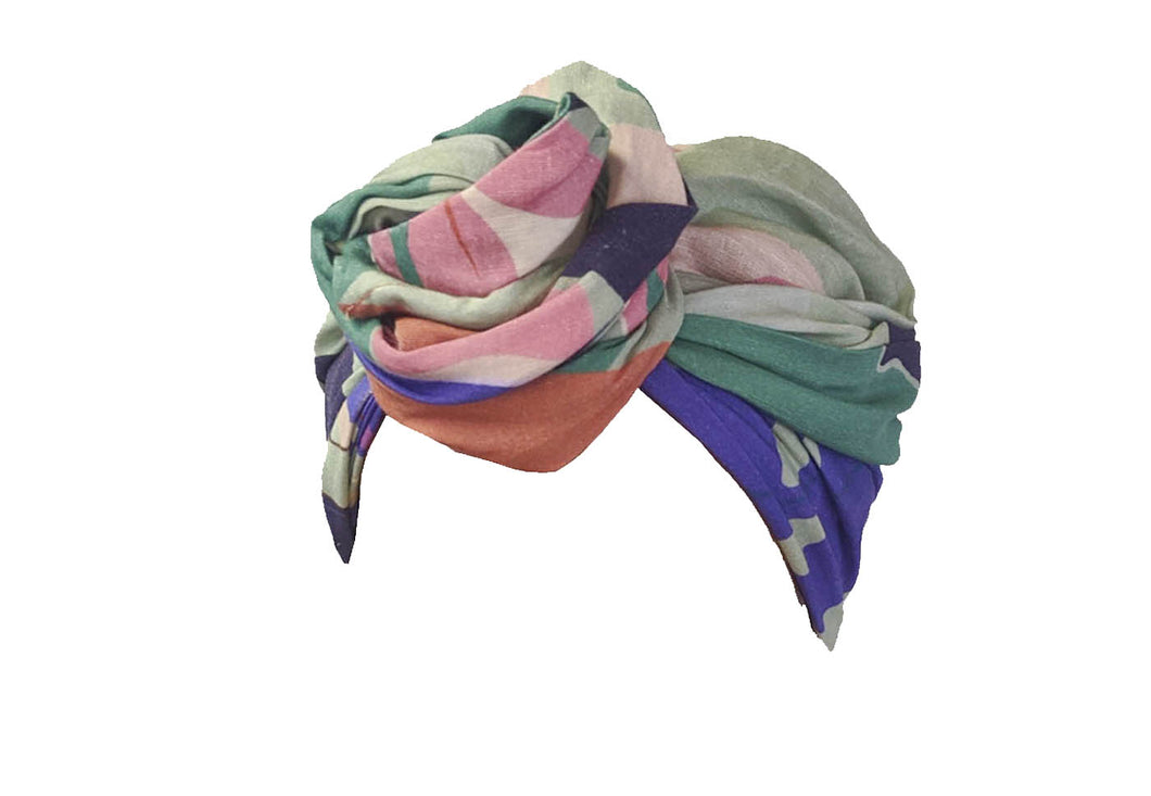 Josephine Head Wrap - Cool Summer Cotton Linen - SOLD OUT