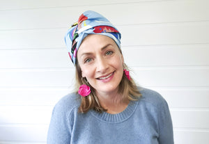Josephine Wired Head Wrap - Extra Long - Just Be You