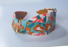 Mathilde Side Knot Headband - Slim - Floral Kuma