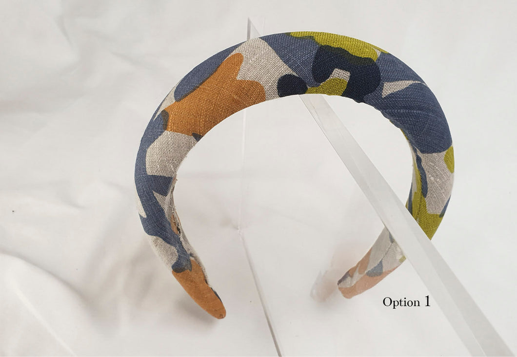 Capsule Collection - Farn / Céline Martine- Padded Alice Headband