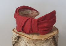 Thalassa Headband - Earth Red