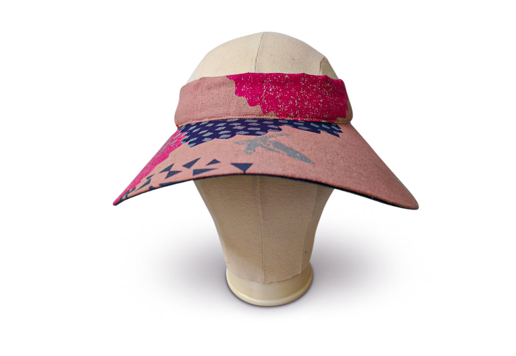 The Lyndal  - Wide Brimmed Visor