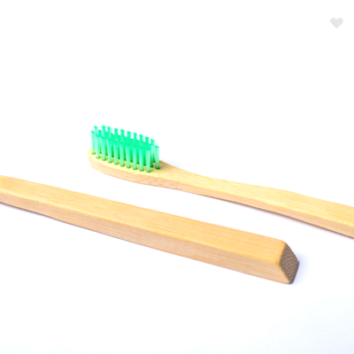 Earth Green Bamboo Toothbrush (4414263918659)