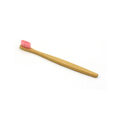 Pink Dreams Bamboo Toothbrush