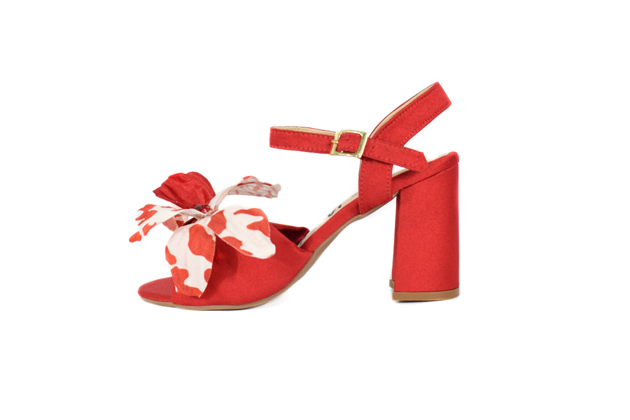 Rincon red sandals