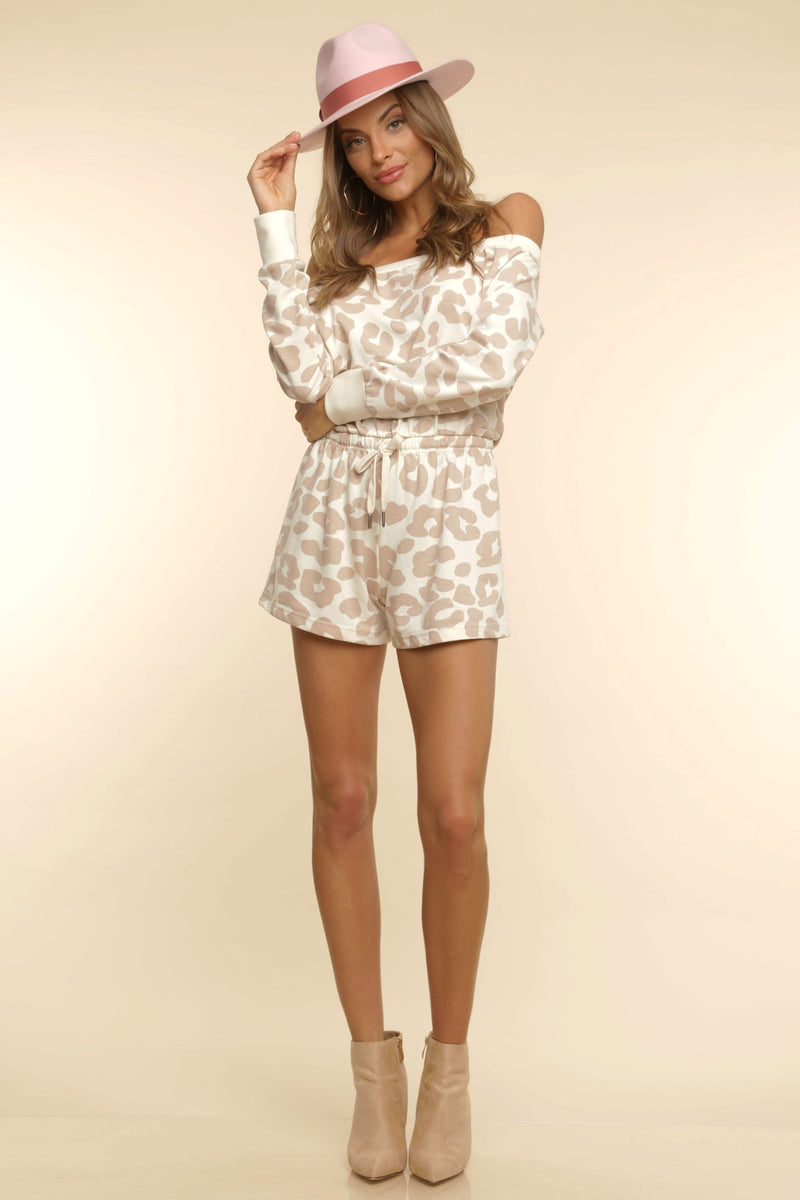 Zoey Off-Shoulder Romper