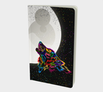 Howling Wolf Small Notebook