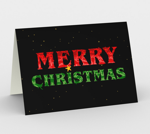 Merry Christmas Animals Card