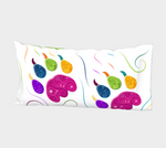 Lion White Pillowcases