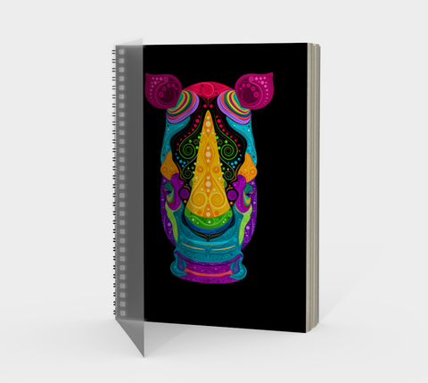 Rhino Spiral Notebook
