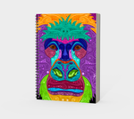 Colorful Gorilla Spiral Notebook