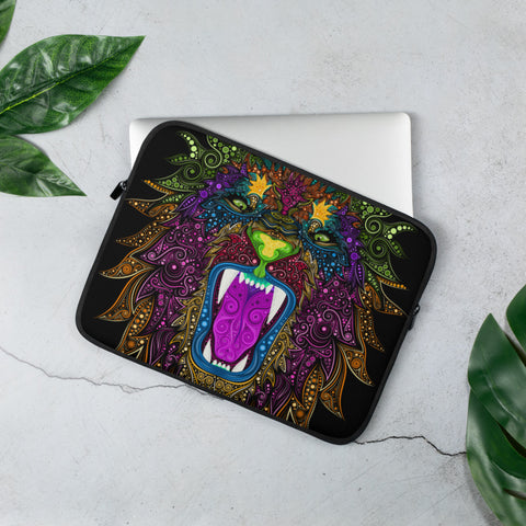 Colorful Lion Laptop Sleeve