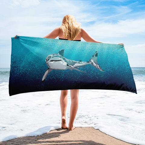 White Shark Towel