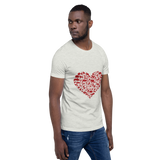 I Heart Wildlife Short-Sleeve Unisex T-Shirt
