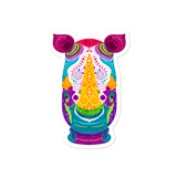 Colorful Rhino Stickers
