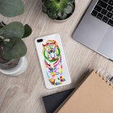 White Bengal Tiger iPhone Case
