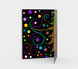 Colorful Lion Spiral Notebook