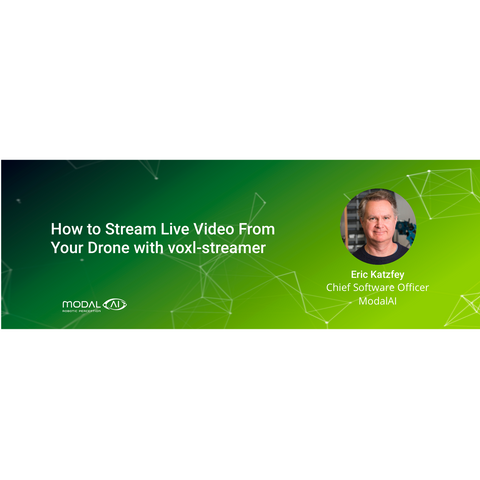 How to Stream Live Video From Your Drone with voxl-streamer