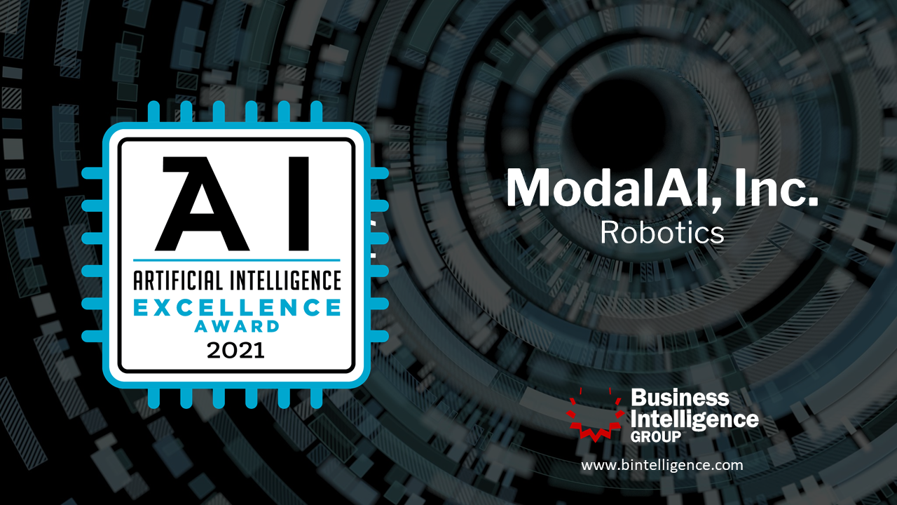 ModalAI Named Winner in 2021 Artificial Intelligence Excellence Awards