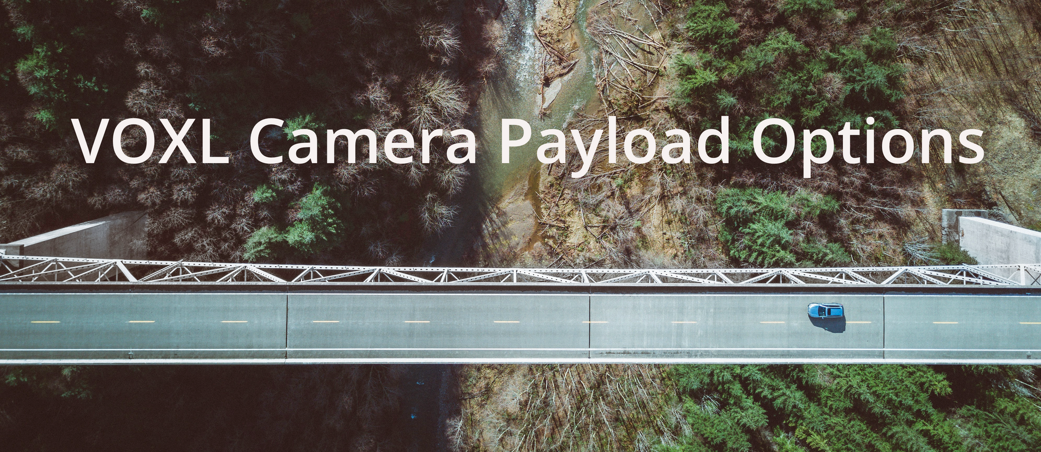 VOXL Camera Payload Options